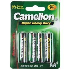 Camelion R06 Zinc Carbon AA/Mignon Battery Blister of 4