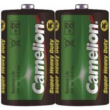 Camelion R20 Zinc Carbon D/Mono Battery 2 pieces
