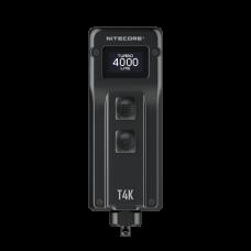 Nitecore T4K keychain lamp, with OLED display, max. 4000 lumens