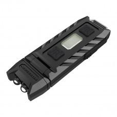 Nitecore THUMB LED keychain torch, 85 lumens, 120° tilting head