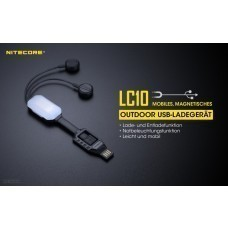 Nitecore LC10 Charger for Li-Ion/IMR Batteries with Powerbank Function