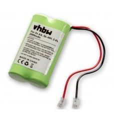 Universal battery NiMH 2.4V 2000mAh 2x AA serial