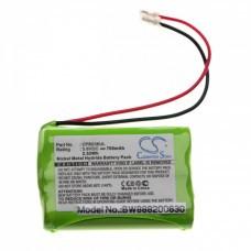 Universal battery NiMH 2.4V 700mAh 3x AAA serial