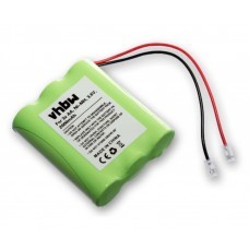 Universal battery NiMH 3.6V 2000mAh 3x AA serial