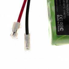 Universal battery NiMH 3.6V 300mAh 3x 2/3 AAA serial