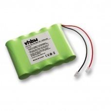 Universal battery NiMH 6V 2000mAh 5x AA serial