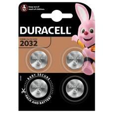 Duracell CR2032 Lithium Button Cell 4pcs