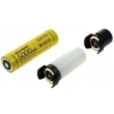 Nitecore NL2150HPi 5,0Ah, Intelligentes Batteriesystem - Satz 2 (inkl. MC21, ML21, MPB21)