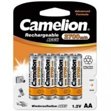 Camelion Battery AA/Mignon 4-Blister NiMH 2700mAh
