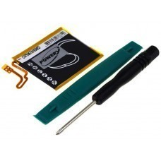 Battery suitable for Apple iPod Nano 7th generation, Type 616-0639 incl. tools