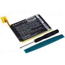 Battery suitable for Apple iPod Touch 5th generation, type 616-0621 incl. tool
