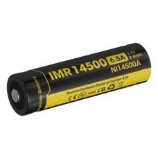 Nitecore Li-Ion Battery 14500 IMR AA/Mignon, NI14500A