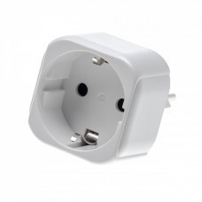Travel plug earthing contact to adapter type J Switzerland CH, 250V