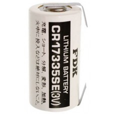 Sanyo CR17335 2/3A Lithium battery with solder tag