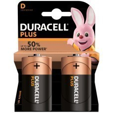 Duracell Plus MN1300 D/Mono/LR20 battery 2 pcs.