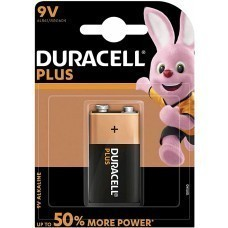 Duracell Plus 9Volt/6LR61 battery