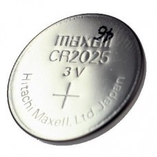 Maxell / Sanyo CR2025 Lithium coin cell