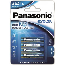 Panasonic EVOIA AAA/Micro Alkaline battery 4 pcs.