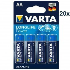 Varta 4906 High Energy AA/Mignon/LR6 battery 80 pcs.