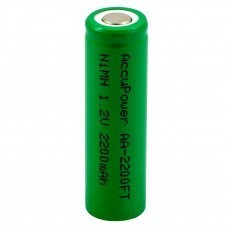 AccuPower Flat Top Ni-MH battery 1,2V AA/Mignon