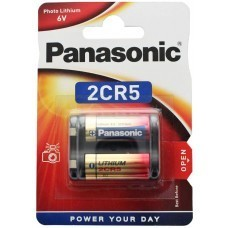 Batterie au lithium Photo Power de Panasonic 2CR5 6V