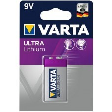 Batterie Varta Professional 9V Lithium Block