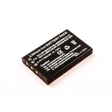 Batterie AccuPower adaptable sur Fujifilm NP-60, EE-Pack-330