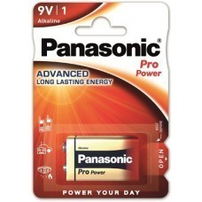Batterie alcaline 9Volt / 6LR61 de Panasonic Pro Power