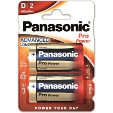 Panasonic Power Pro D / Mono / LR20 batteria Pack 2